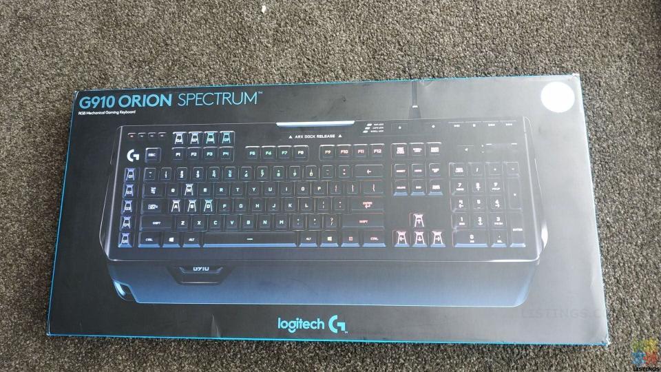 Logitech G910 Orion Spectrum RRP$330 - 2/5