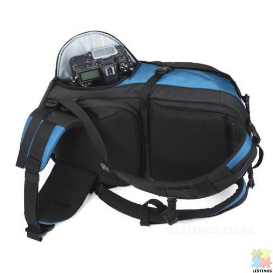 Lowepro Primus AW Backpack (Arctic Blue) - 7/10