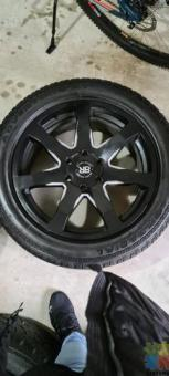 Black Rhino 20' Mags & Tyres For Sale