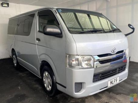Finance Available from 7.99%** - 2014 Toyota Regius Hiace Van 4 Door Petrol Auto