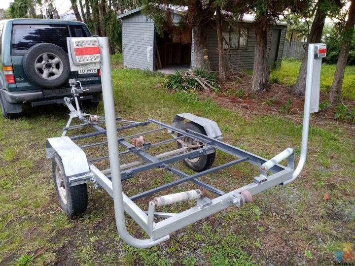 Boat trailer 10/12 ft - 2/2