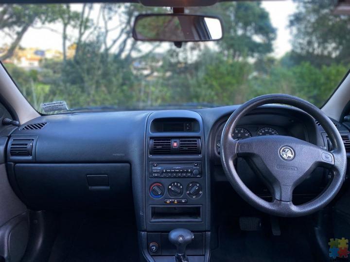 2002 Holden Astra - 1.8l - 2/3