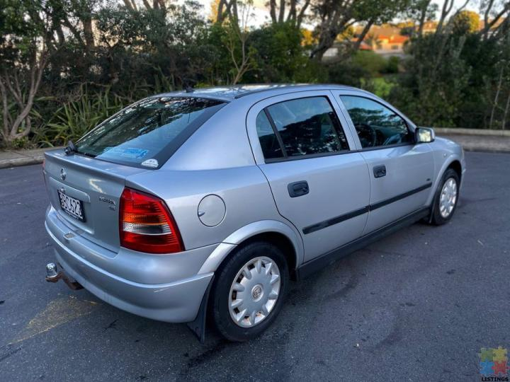 2002 Holden Astra - 1.8l - 3/3