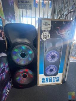 6000 Watt speakers SALE