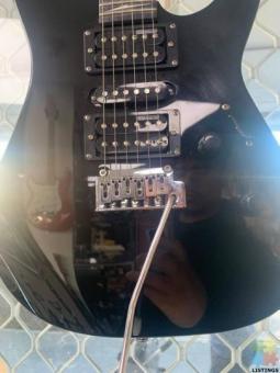 LTD-MT130 Electric Guitar - Black - NEW STRINGS