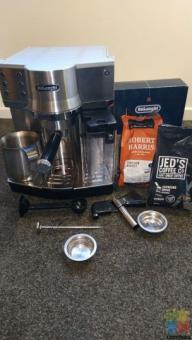 Delonghi automatic cappuccino coffee machine
