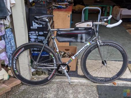 Bianchi Pista track bike/fixie (Size XL)
