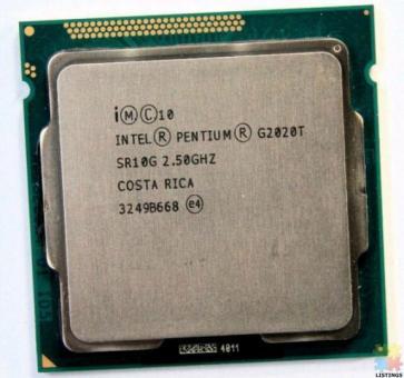Intel Pentium G2020T 2.50 GHz Processor LGA1155 GREAT FOR MINING BUILDS