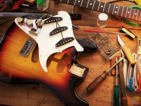 Guitar Strings + Restring