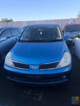 2006 Nissan Tida Parts only