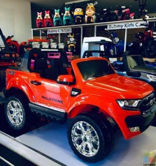 2*12Volts LICENSED FORD RANGER 4WD- RED DKF650