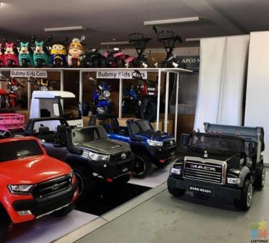 PRE-ORDER/LAYBY: Licensed Mack Dump Truck Kids ride on car - Black