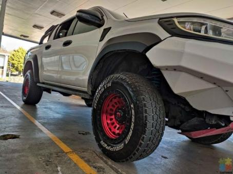 Lift your ute and mags with tyres combo on Weekly payments from $20 per week