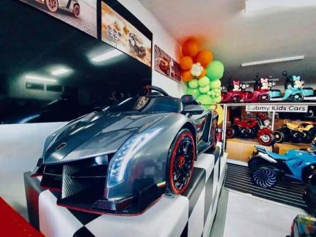 12Volts Licensed Lamborghini Veneno- Painted Grey