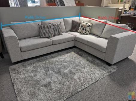 Brand New NZ Made Corner Lounge Suite 3+Corner+2 Seater
