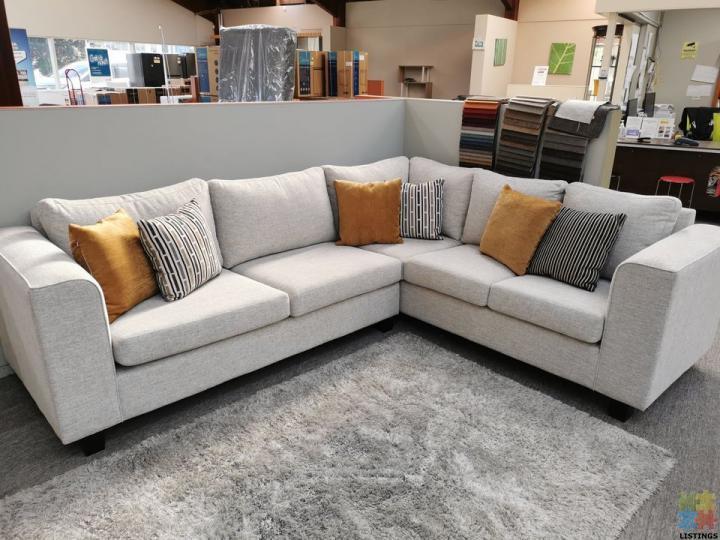 Brand New NZ Made Corner Lounge Suite 3+Corner+2 Seater - 2/2