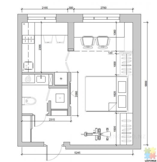 SLEEPOUT HOUSE (30 m2) - 3/4