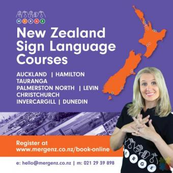 New Zealand Sign Language (NZSL) course in Mangere