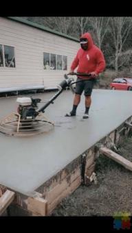 Concrete layer