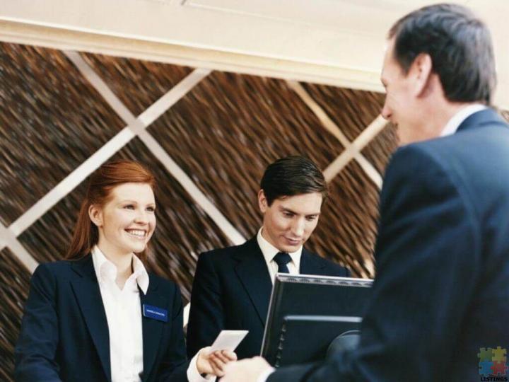 Receptionist/Front Desk Team Member - 1/1