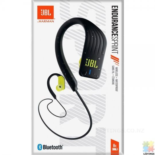 JBL  Sprint Wireless Sports Headphones - Yellow - 1/2