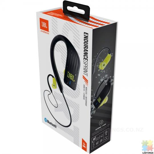 JBL  Sprint Wireless Sports Headphones - Yellow - 2/2