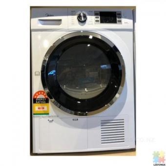 Brand New Midea LED Screen 7kg Heat Pump Dryer 6 Star Energy Rating