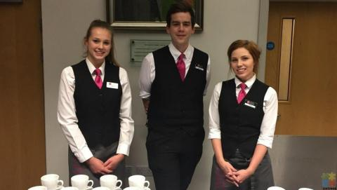 front of house staff