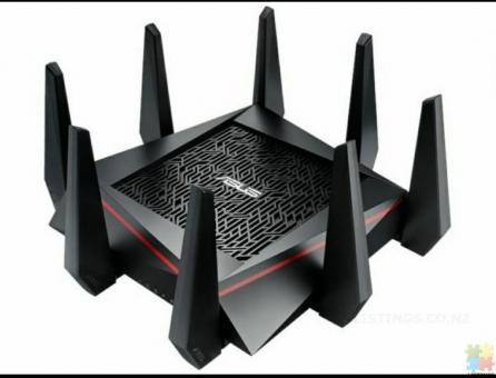 ASUS RT-AC5300 WIFI Tri-band Fiber Ready Gaming Router
