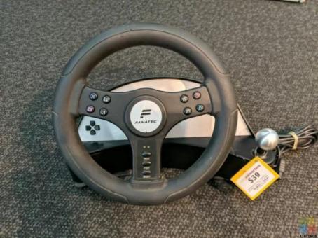 Fanatec Speedster 2 Steering Wheel for PlayStation