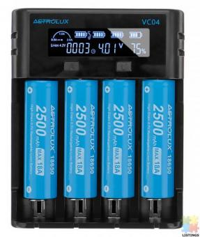 Micro Type-C 2A Quick Charge Li-ion Ni-MH Battery Charger Current Optional USB Charger For 18650 266