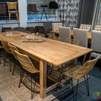 Wicker PE Dining Chair Natural