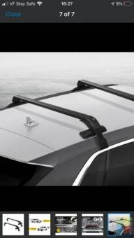 Universal car roof rack 100cm
