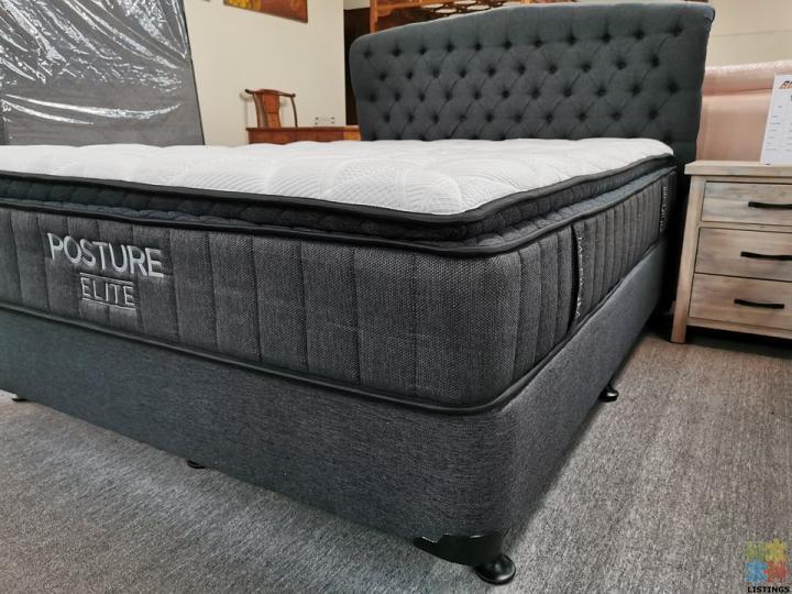 Queen Bed 2pcs: NZ Made Base & Dream Night 35cm - 2/2