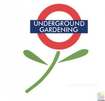 Underground Gardening