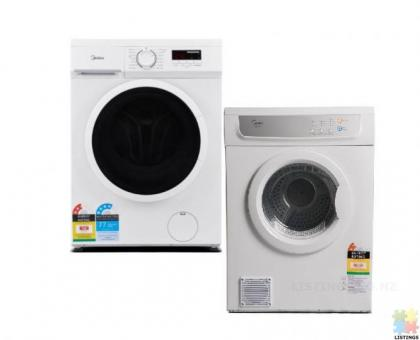 WINZ Approved Supplier:Brand New 7.5KG Washer and 7KG Dryer Combo Special