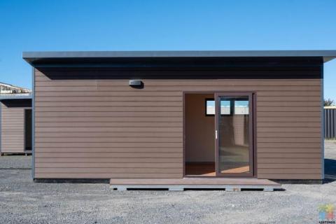 Unique 21 square meters WPC portable cabin