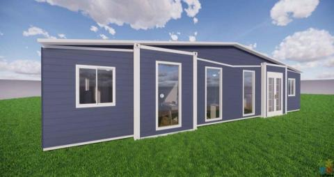 2x40ft Expandable Container Home