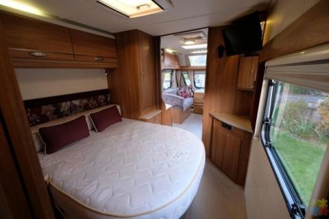 2012 Swift archway ruby twywell 4 berth caravan