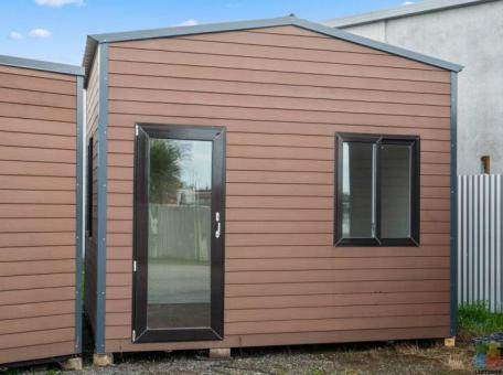 10 square meters two stories WPC portable cabin
