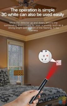 Hidden Cameras and Audio Bugs Detector
