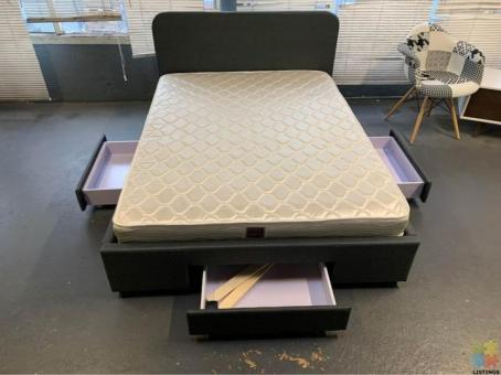 *Sue-e furniture* Brand new Bed Frame with Drawers