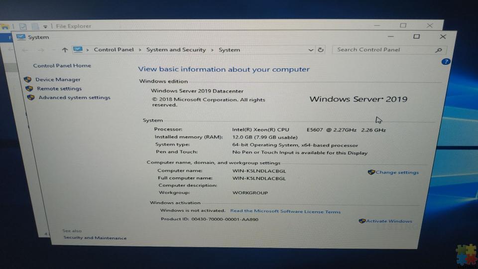 Server Dell - 7/10