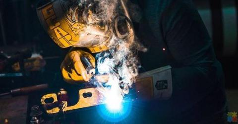 Night shift welders