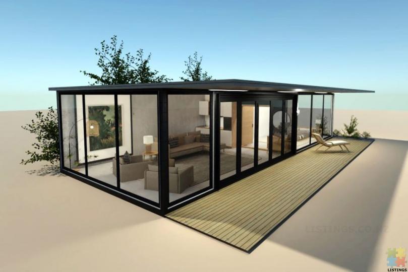 Portable Home(Glassy Villa)-Fully Self-Contained Prefab - 1/3