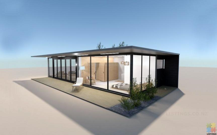 Portable Home(Glassy Villa)-Fully Self-Contained Prefab - 2/3