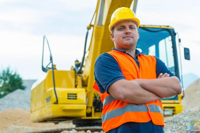 Class 4 Truck Driver and Digger operator / Concrete Placer - 1/1