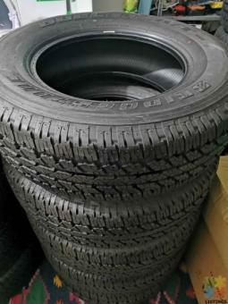 Bridgestone AT 265/70/18 Tyres x4 new.