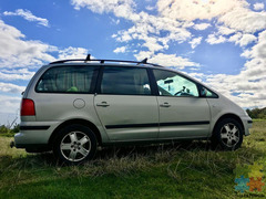 VW Sharan 2002 with NEW WOF and all Camping Equipment