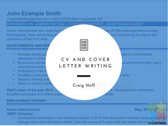 Push your Career to the next level with a Professional CV Writer.